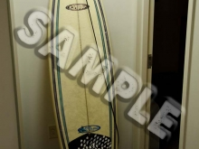 SAMPLE -- 7-foot Kinetic surfboard